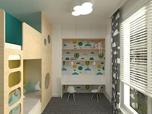 mieszkanie Bemowo - Pokój dziecka, styl skandynawski - zdjęcie od noobo studio