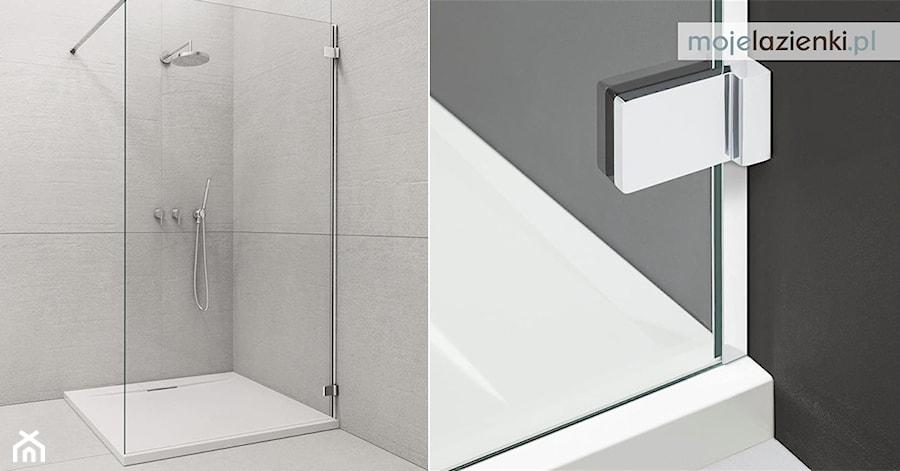 Prysznic Walk In Z Brodzikiem Zdjęcie Od Mojelazienki Homebook