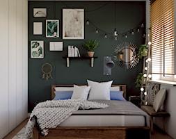 sypialnia w stylu boho - zdjęcie od Studio 36m2