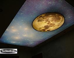 Taśmy LED + sufit napinany z nadrukiem E-TECHNOLOGIA - zdjęcie od E-TECHNOLOGIA Leszek Łazarski