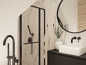 KATOWICE- projekt skomplikowanej łazienki