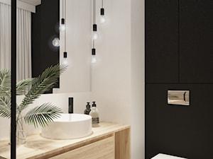 BIAŁYSTOK- łazienka i kuchnia w mieszkaniu w Apartamentach Kopiernika