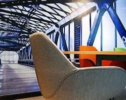 biuro w Poznaniu - Małe biuro pracownia, styl minimalistyczny - zdjęcie od Archideko