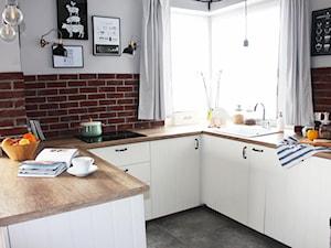 Kuchnia - dom Jabłonka - zdjęcie od Architekt Wnętrz - Kalina Droździok