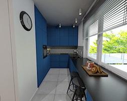 Niebieska Kuchnia Zdjecie Od Maszroom Karolina Pogorzelska Homebook