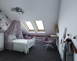 Pokój lila - zdjęcie od Maszroom: Karolina Pogorzelska