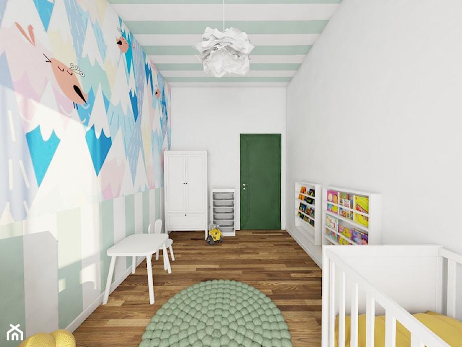 Aranżacje wnętrz - Pokój dziecka: Pokój dziecka - Maszroom: Karolina Pogorzelska . Przeglądaj, dodawaj i zapisuj najlepsze zdjęcia, pomysły i inspiracje designerskie. W bazie mamy już prawie milion fotografii!