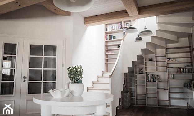schody w stylu rustykalnym