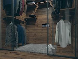 Garderoba w apartamencie w Berlinie - Średnia zamknięta garderoba, styl włoski - zdjęcie od SSF_Interiors