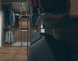 Garderoba w apartamencie w Berlinie - Duża garderoba, styl włoski - zdjęcie od SSF_Interiors
