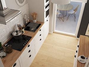 Kuchnia biała - zdjęcie od 3D Wizualizacje i Projektowanie