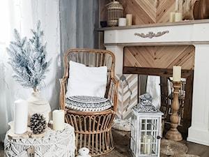 Dom w górach - Salon - zdjęcie od Pracownia Projektowa Creative Manufacture Dominika Mucha