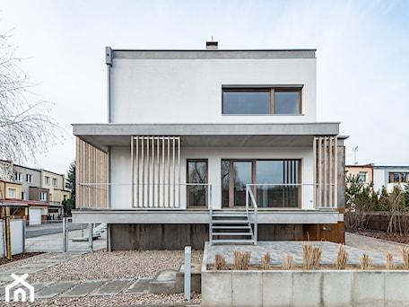 Aranżacje wnętrz - Taras: Villa Antoninek - Taras, styl minimalistyczny - ENDE marcin lewandowicz. Przeglądaj, dodawaj i zapisuj najlepsze zdjęcia, pomysły i inspiracje designerskie. W bazie mamy już prawie milion fotografii!