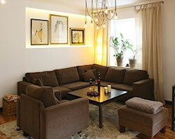 dom pod Poznaniem - Mała otwarta jadalnia w salonie, styl nowoczesny - zdjęcie od ENDE marcin lewandowicz