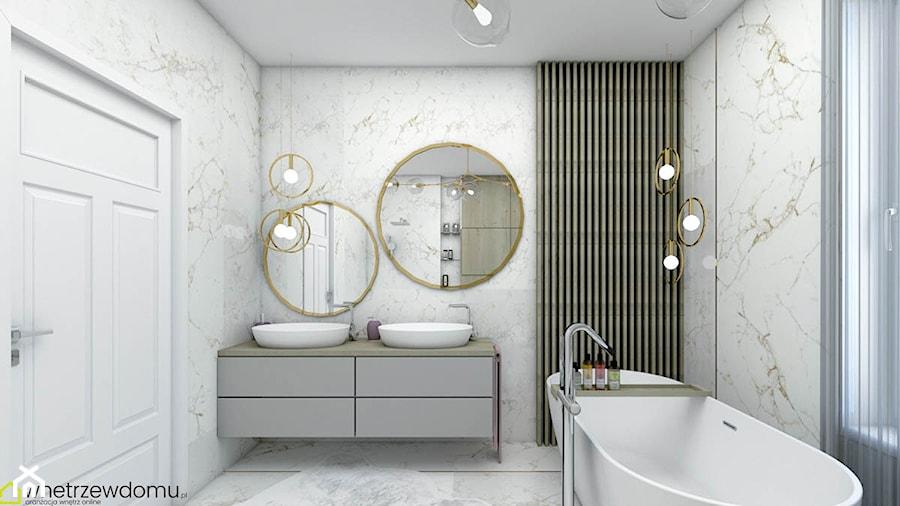 łazienka w stylu glamour - zdjęcie od wnetrzewdomu