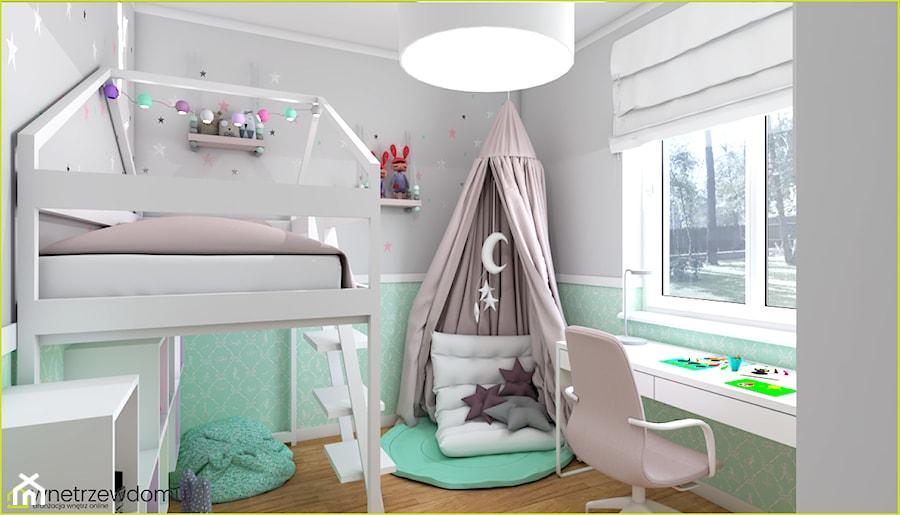 Aranżacje wnętrz - Pokój dziecka: Pokój dla dziewczynki - wnetrzewdomu. Przeglądaj, dodawaj i zapisuj najlepsze zdjęcia, pomysły i inspiracje designerskie. W bazie mamy już prawie milion fotografii!