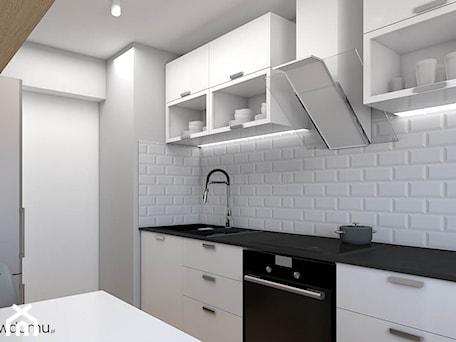 Aranżacje wnętrz - Kuchnia: Minimalistyczna kuchnia - wnetrzewdomu. Przeglądaj, dodawaj i zapisuj najlepsze zdjęcia, pomysły i inspiracje designerskie. W bazie mamy już prawie milion fotografii!