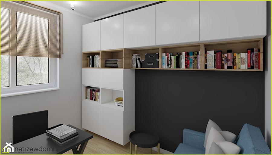 Gabinet z zabudową z IKEI - zdjęcie od wnetrzewdomu