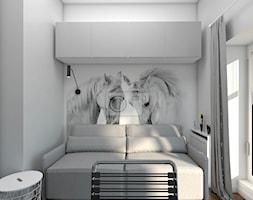 Pokój z tapetą w konie - zdjęcie od wnetrzewdomu - Homebook