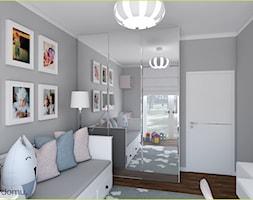 Jasny pokój dla dziewczynki, nastolatki - zdjęcie od wnetrzewdomu