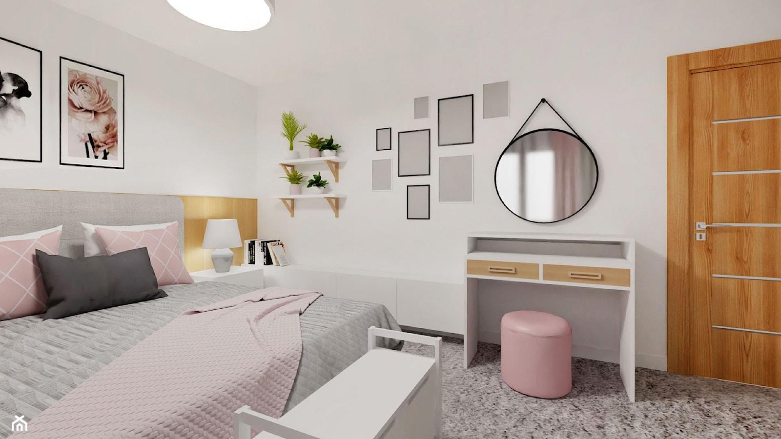 SŁODKICH SNÓW - Sypialnia, styl nowoczesny - zdjęcie od archistacja pl - Homebook