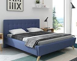 Mała biała sypialnia małżeńska, styl skandynawski - zdjęcie od Meble Doktór 24 - Homebook