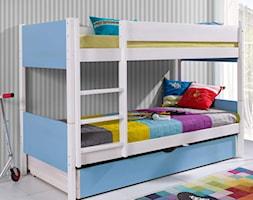 Średni biały szary pokój dziecka dla chłopca dla dziewczynki dla rodzeństwa dla malucha dla nastolat ... - zdjęcie od Meble Doktór 24 - Homebook