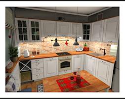 Przytulna+kuchnia+-+zdj%C4%99cie+od+Strefa+Projekt%C3%B3w+Maja+Bakalarz