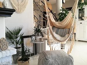Scandi Boho - Średni salon, styl skandynawski - zdjęcie od emiliana.pl