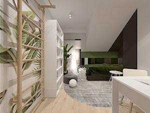 Projekt domu 110 m2/ Kraków - Pokój dziecka, styl nowoczesny - zdjęcie od MARCISZ ARCHITEKCI