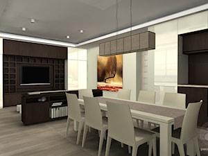 Połączenie salonu z kuchnią