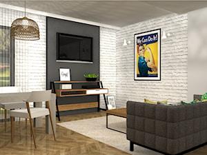 Koncepcja mieszkania w stylu vintage