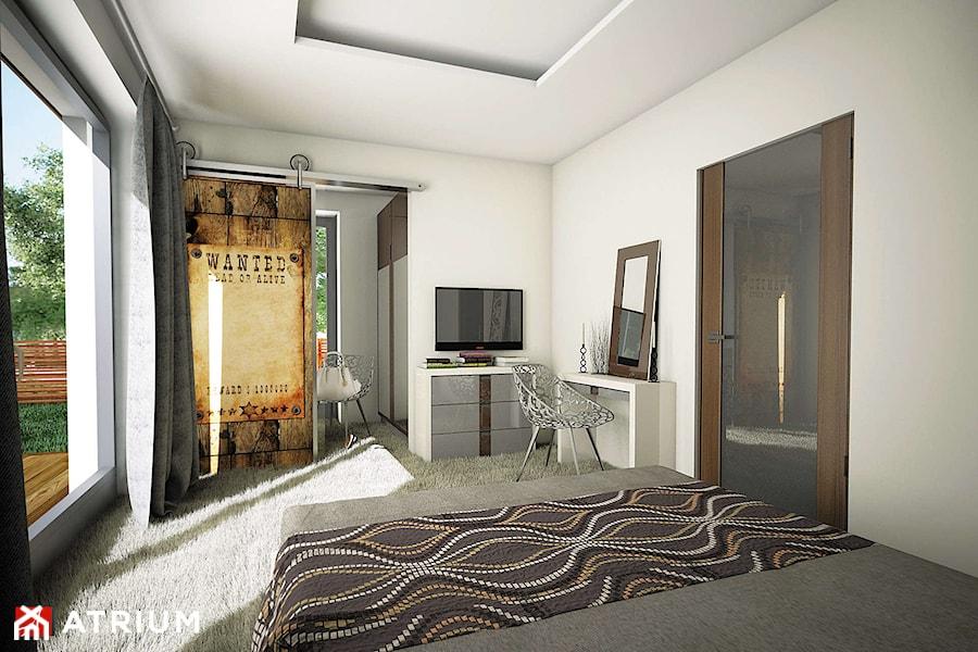 Merlin - Sypialnia - Wizualizacja - zdjęcie od Studio Atrium