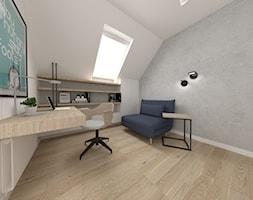 020 - Biuro, styl nowoczesny - zdjęcie od IDI Studio - Homebook