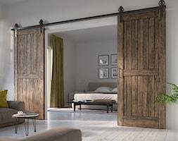 Aranżacje - Średni szary salon, styl rustykalny - zdjęcie od GTV - Homebook