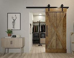 Styl loftowy - Garderoba, styl industrialny - zdjęcie od GTV