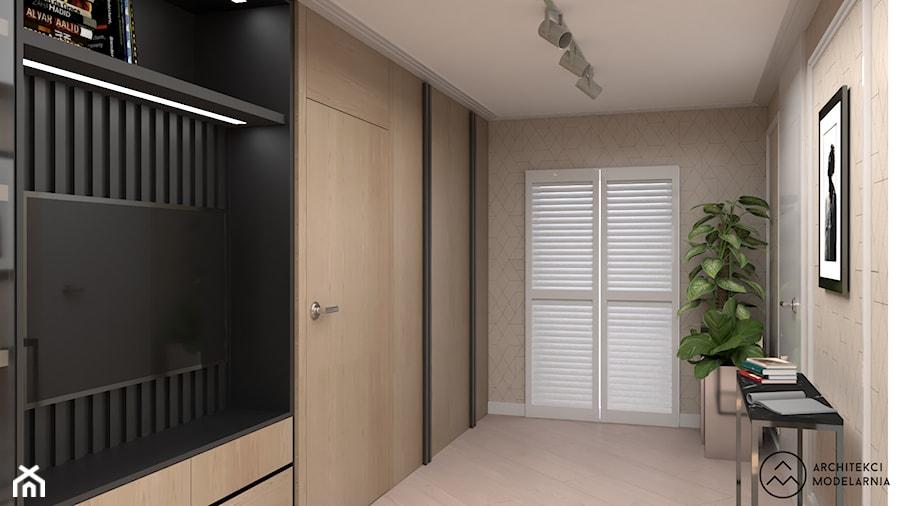 Poddasze domu dla 2+2 - Hol / przedpokój - zdjęcie od Architekci Modelarnia
