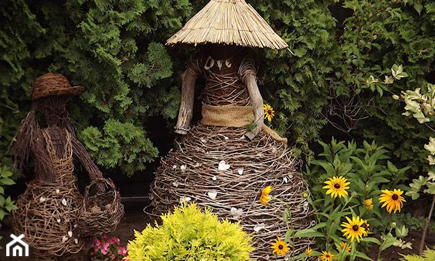 ozdoby z patyków do ogrodu