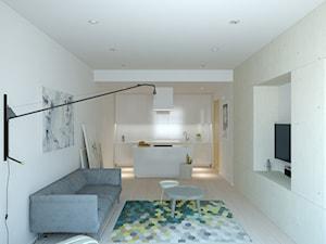 Projekt  mieszkania dla dwojga
