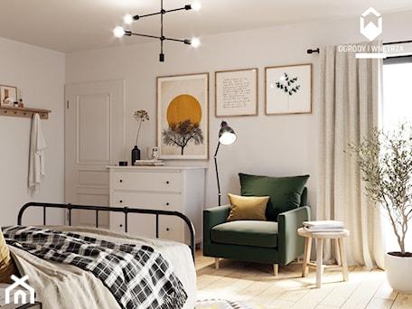 Aranżacje wnętrz - Sypialnia: Sypialnia w stylu rustykalnym - Sypialnia, styl rustykalny - KAROLINA POPIEL - ARCHITEKURA WNĘTRZ. Przeglądaj, dodawaj i zapisuj najlepsze zdjęcia, pomysły i inspiracje designerskie. W bazie mamy już prawie milion fotografii!