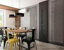 Przestrzeń biurowa firmy Repablo - Jadalnia, styl industrialny - zdjęcie od przestrzeńNOVA - Homebook