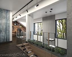 W ZACISZU NATURY LOFTOWA PRZESTRZEŃ - Hol / przedpokój, styl industrialny - zdjęcie od przestrzeńNOVA - Homebook