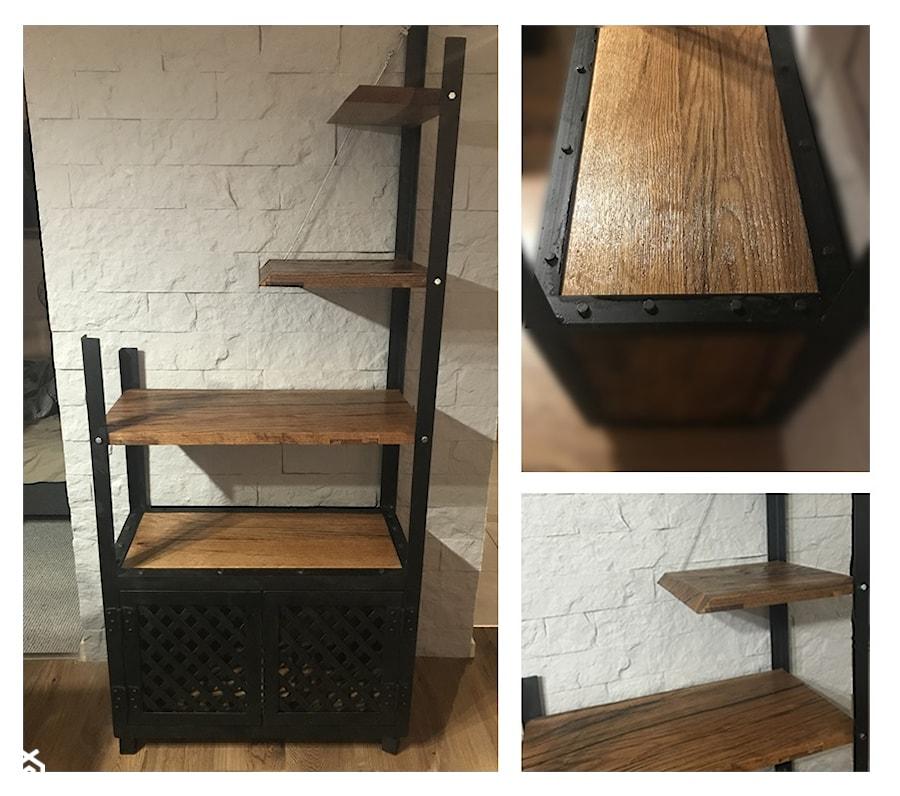 Regal Industrialny Loft Metal Drewno Zdjecie Od A J