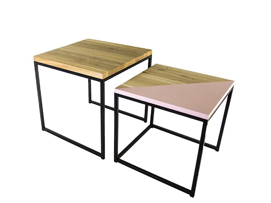 Zestaw stolików Bambino (czarny) - zdjęcie od KIZO Design • Meble Nowoczesnych Wnętrz!