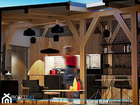 Aranżacje wnętrz - Kuchnia: pOR_010 - Black&Wood - Kuchnia, styl skandynawski - Project[OR] Group. Przeglądaj, dodawaj i zapisuj najlepsze zdjęcia, pomysły i inspiracje designerskie. W bazie mamy już prawie milion fotografii!