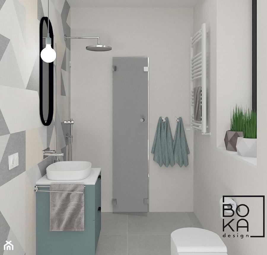 Mała łazienka Z Prysznicem I Wc Zdjęcie Od Boka Design
