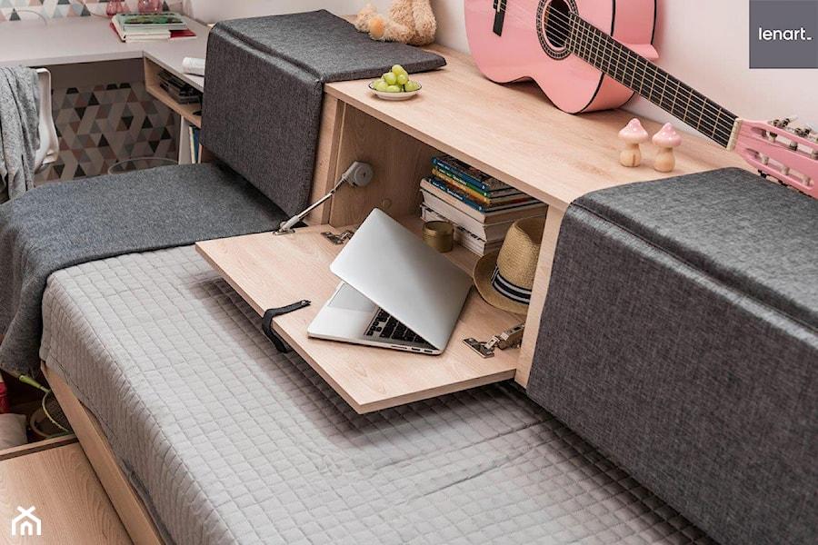 Kolekcja MEET ME - wielofunkcyjne łóżko - zdjęcie od Lenart