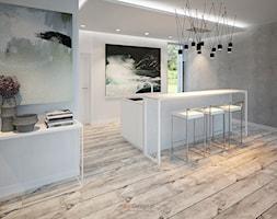 Dom 200 m2 - Średnia kuchnia, styl nowoczesny - zdjęcie od Add Design - Homebook