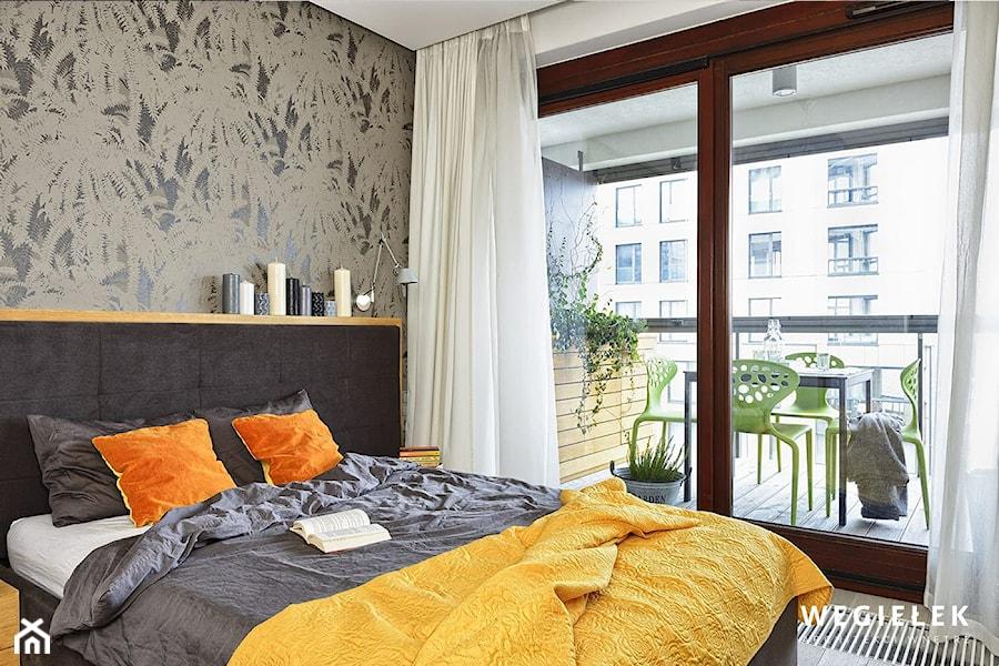 Apartament Warszawa Muranów - Sypialnia - zdjęcie od Węgiełek Architekci Wnętrz