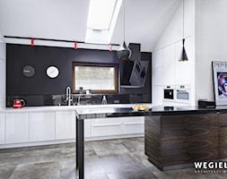 Dom pod Konstancinem - Kuchnia - zdjęcie od Węgiełek Architekci Wnętrz - Homebook